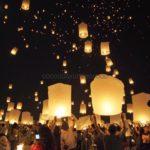 ( タイ コムローイ祭り )感動の体験! ランタン祭りの様子 【2017年情報】